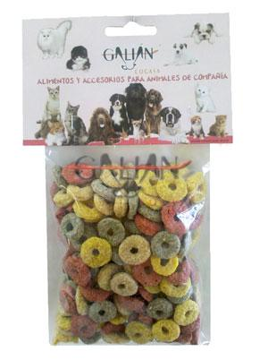 GOLOSINA ROEDORES DONUTS MIX 140 GR